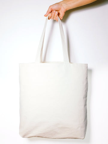 Custom Awesome - Organic Tote - Natural