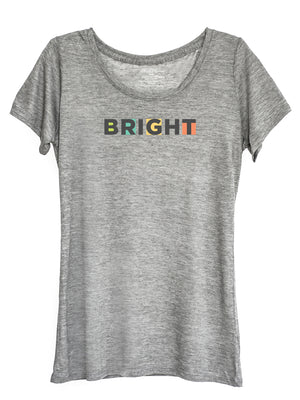 The Power of Words - Women's Tee - BRIGHT