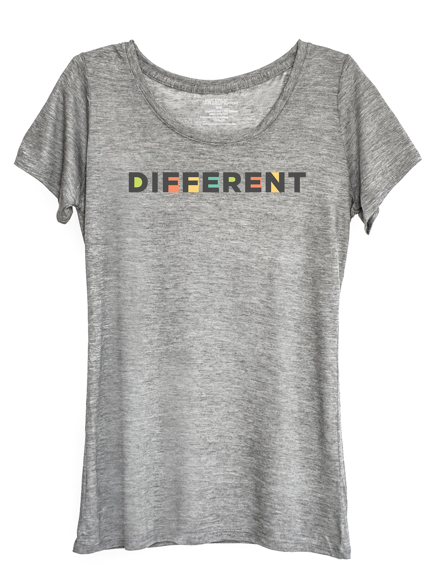 The Power of Words - Women's Tee - DIFFERENT