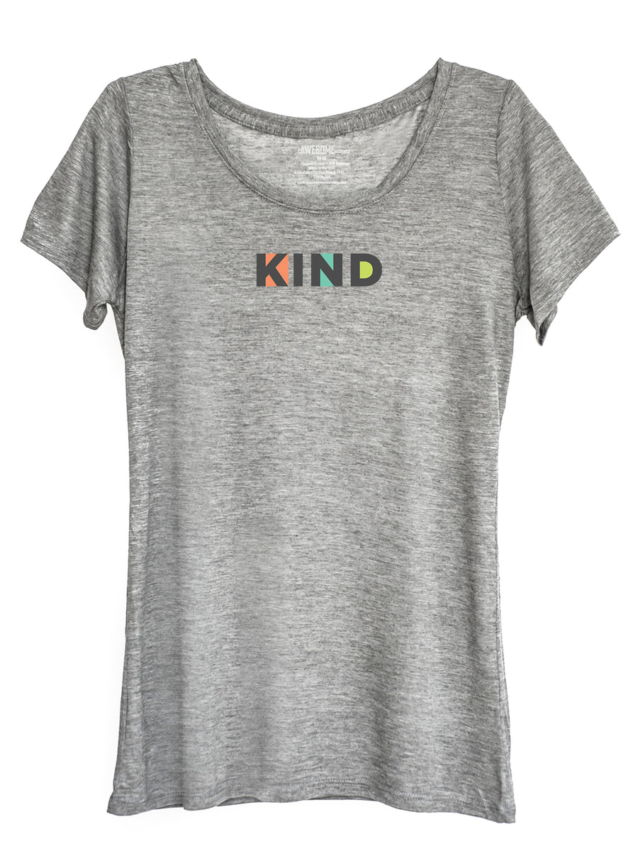 The Power of Words - Women's Tee - KIND