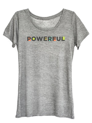 The Power of Words - Women's Tee - POWERFUL