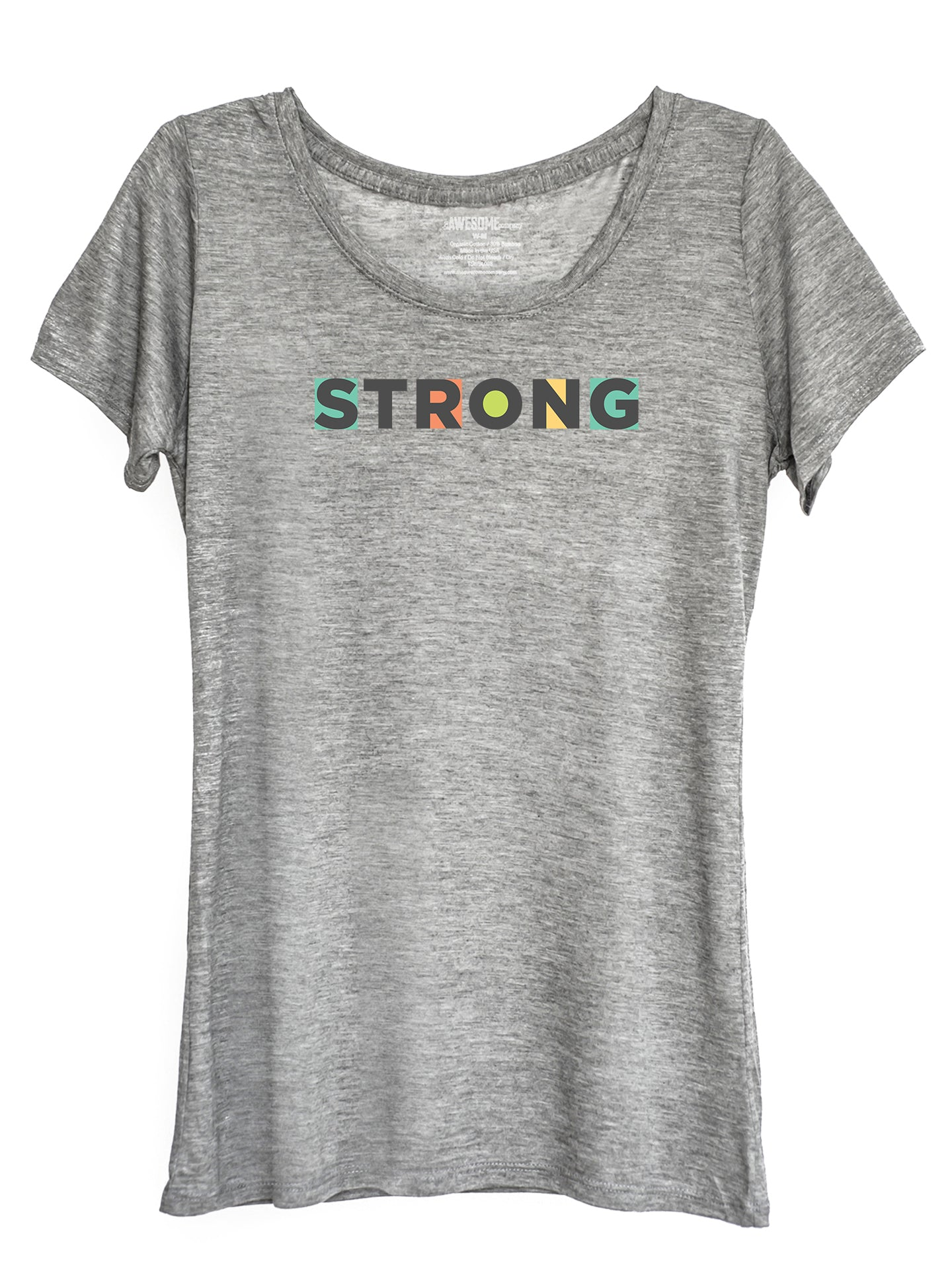 The Power of Words - Women's Tee - STRONG