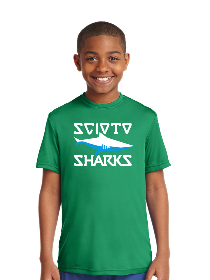 Scioto Sharks - Youth Competitor Tee