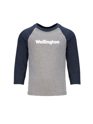 Wellington - Youth 3/4 Length Sleeve