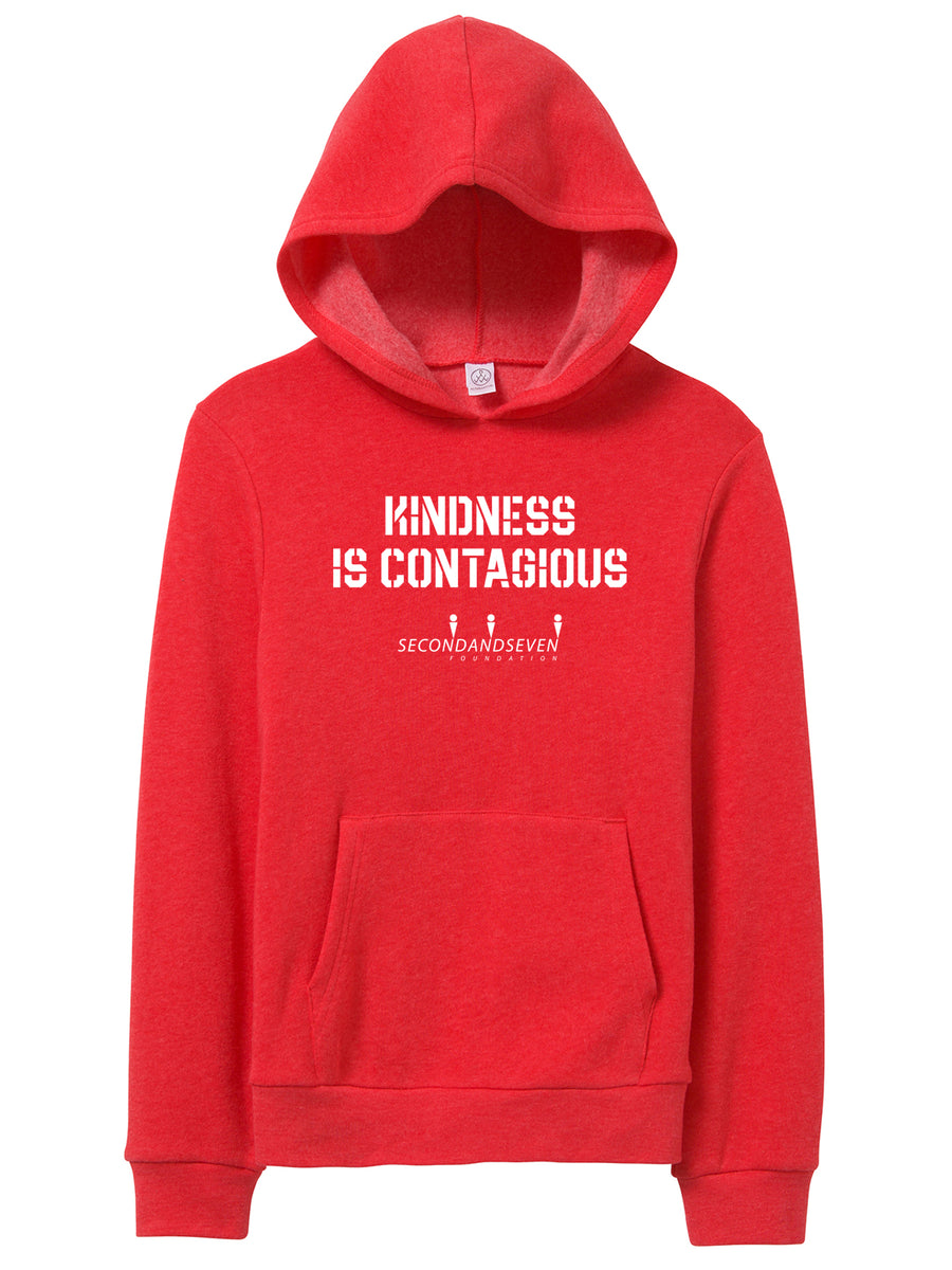 Kindness is Contagious - Youth Hooded Sweater