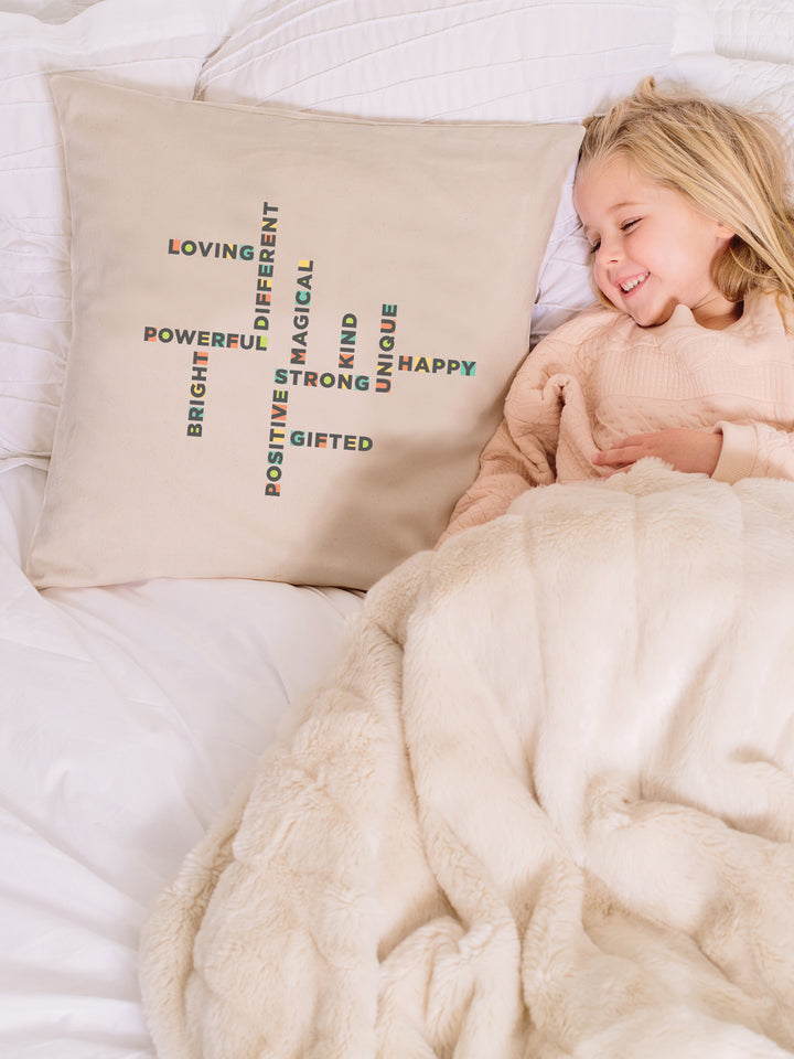 The Power of Words - Organic Pillow