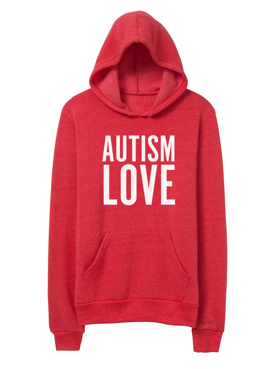 Autism Love - Unisex Hooded Sweatshirt