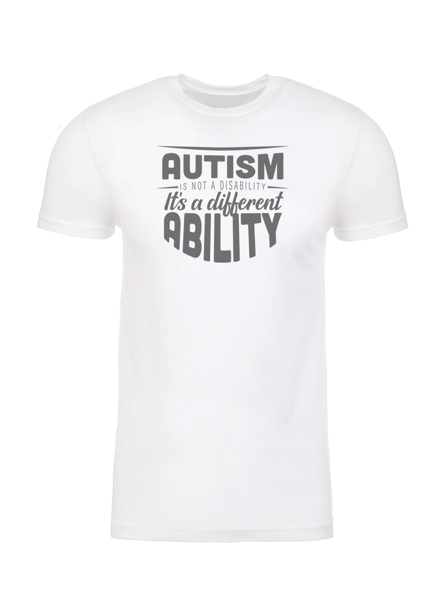 Autism is a Different Ability - Unisex Tee