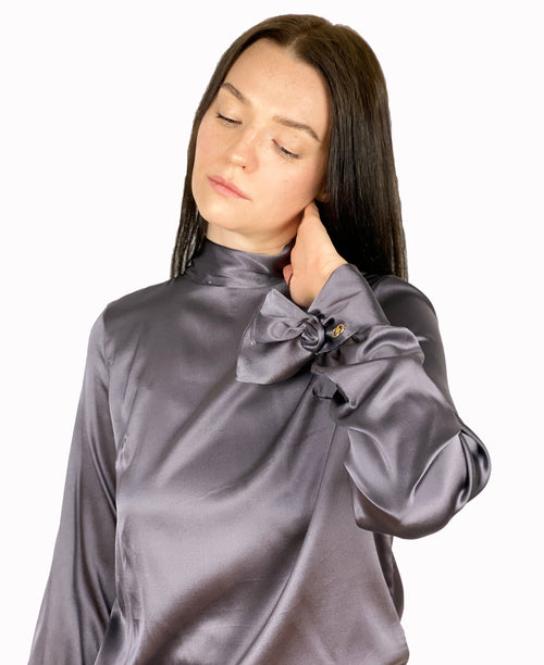 Tina  Silk Blouse
