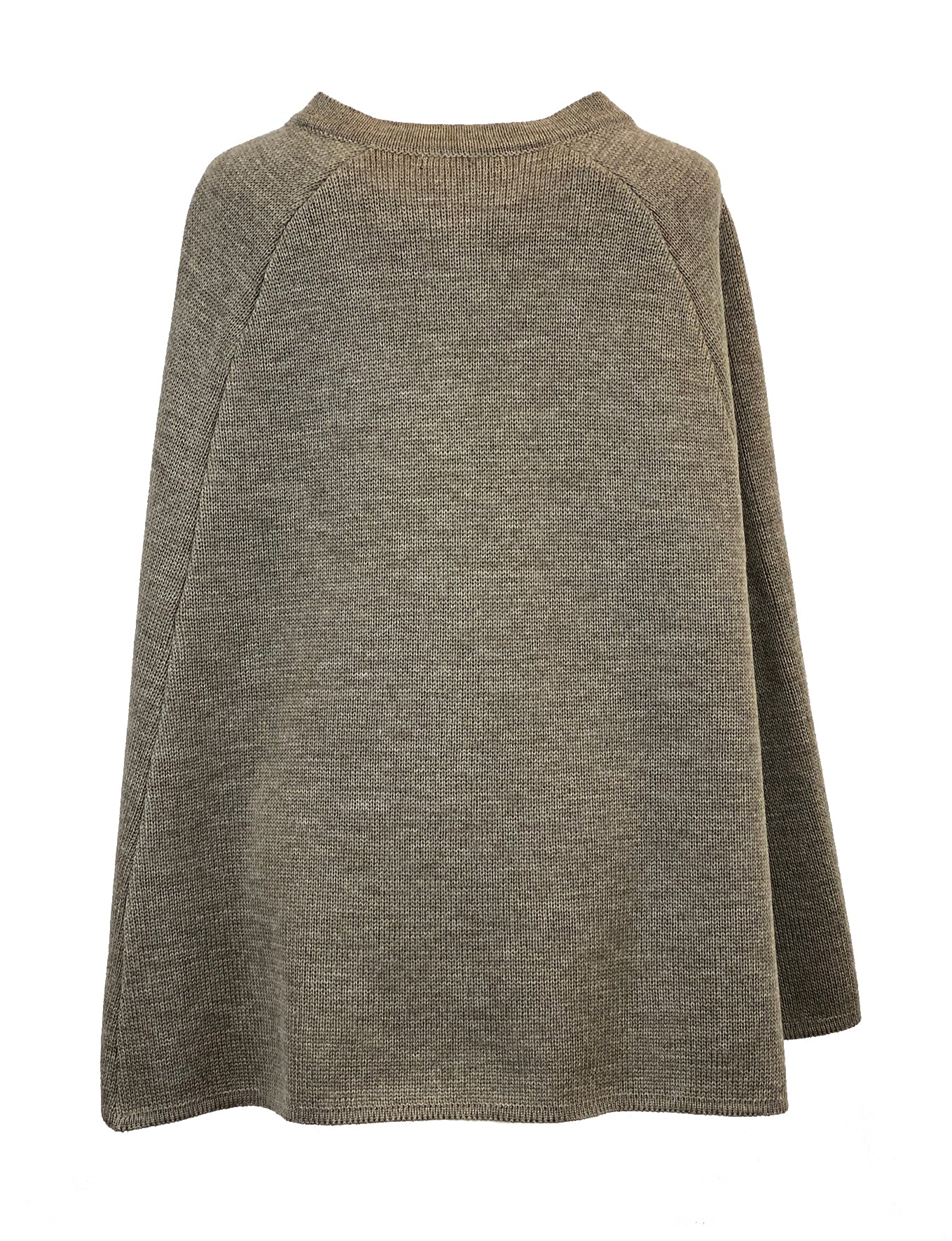 Audrey Knitted Wool Cape