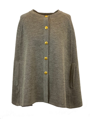 Kajsa knitted button cardigan