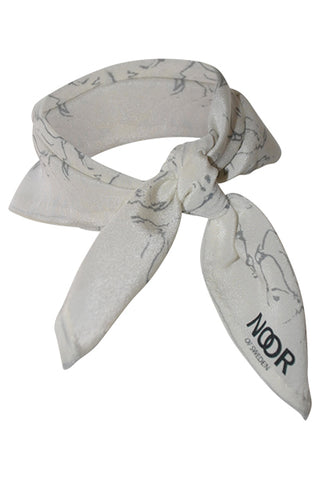 Organic Cotton Scarf Black