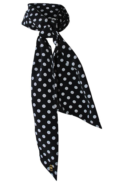 Elsa Dotted Long Scarf