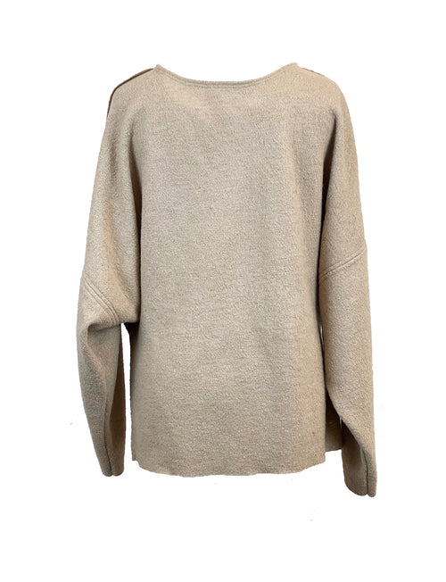 Kajsa knitted oversized sweater