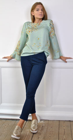 Elsa Rips Lace Blouse