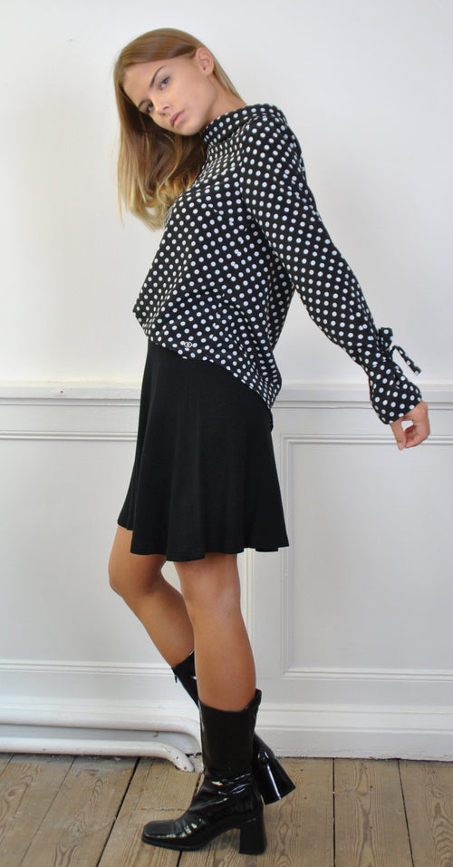 Elsa Dotted Blouse