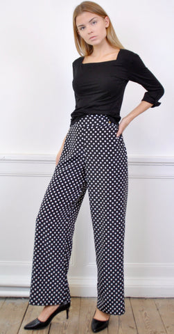 Elsa Striped Wide Pants