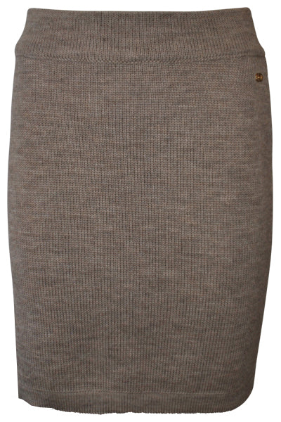 Grace Knitted Wool Skirt