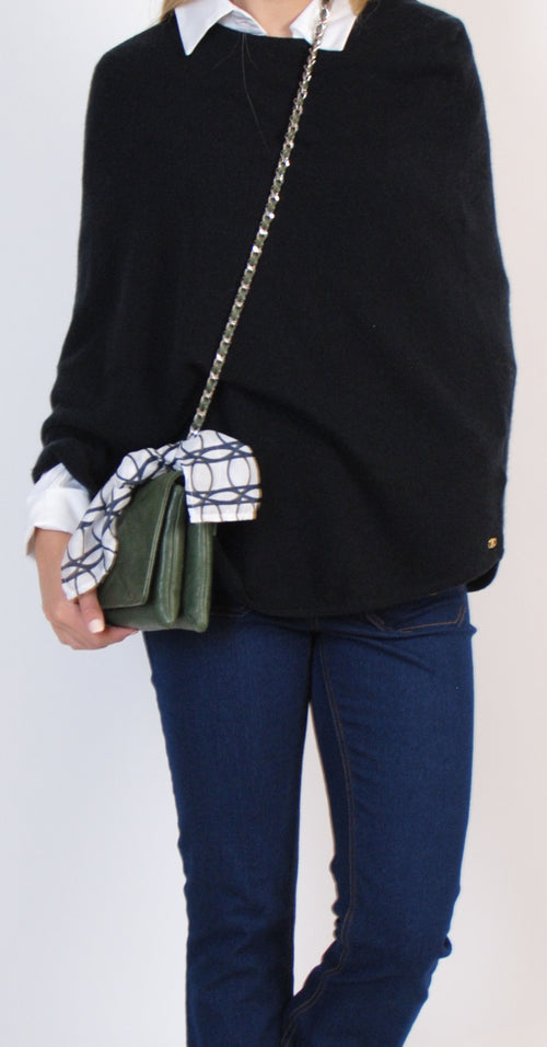 Kelly Cashmere Poncho