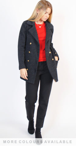 Grace Knitted Wool Blazer