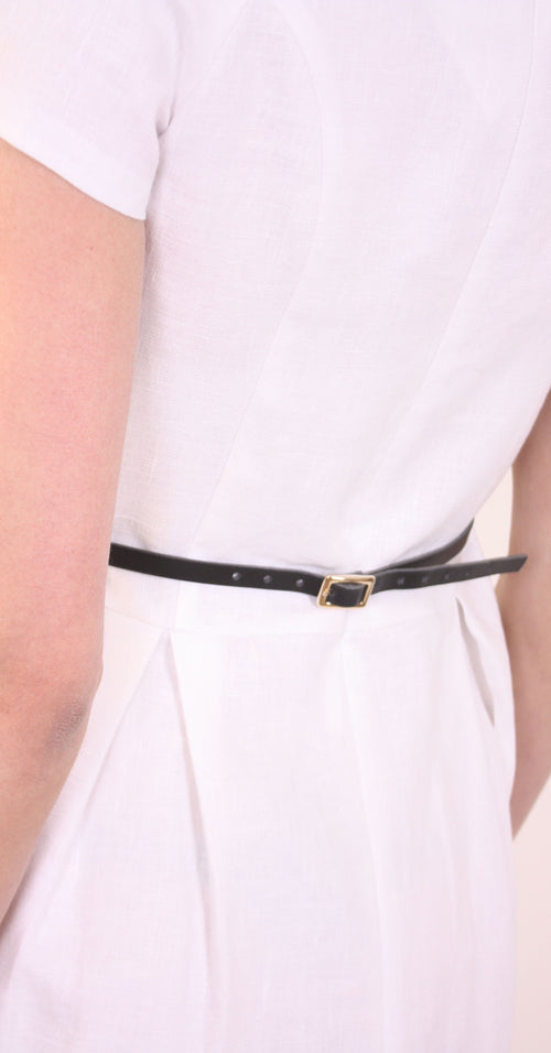 Noor leather belt