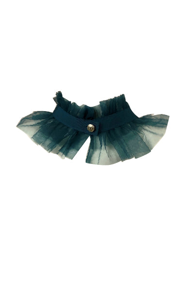 Elsa tulle button collar