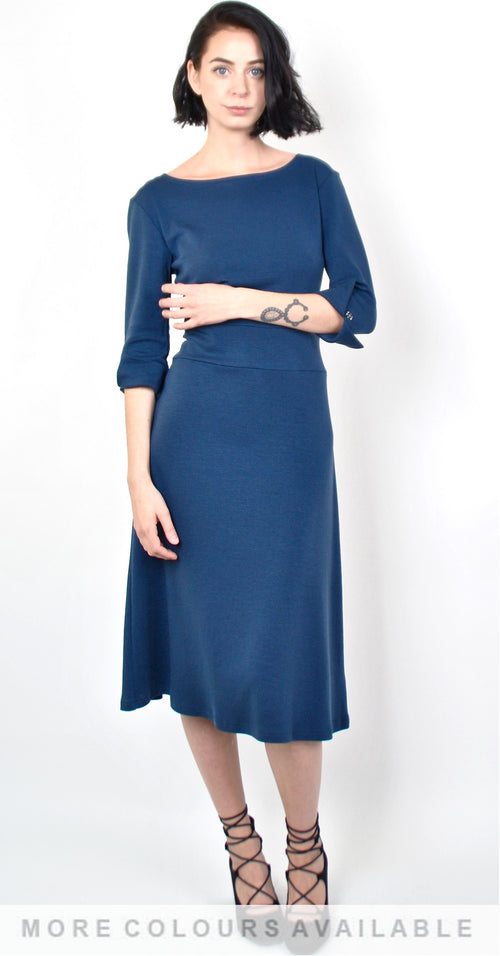 Pia 3/4 Sleeve Dress