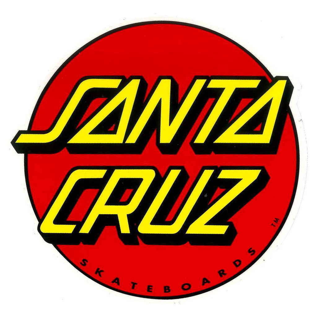 Santa Cruz Stickers Classic Dot 6in