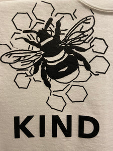 Graphic T-Shirt White - Bee Kind