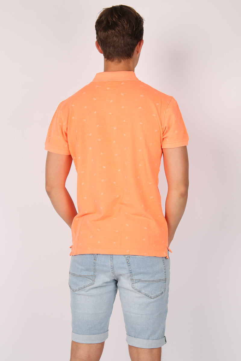 BLEND- Shocking Orange Dandelion Polo