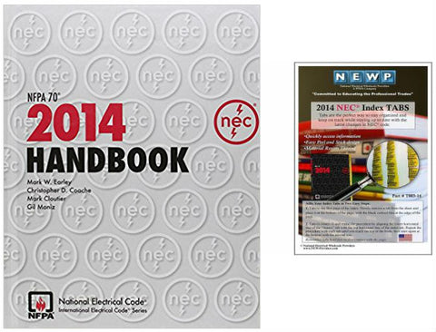 NFPA 70: National Electrical Code (NEC) Handbook, 2014 Edition with Tabs