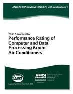 ARI 1360 - Performance Rating of Computer and Data Processing Room Air Conditioners (I-P) (AHRI) with Addendum 1