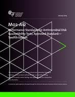 CLSI M02-A12 AND M100-S26 PACKAGE Performance Standards for Antimicrobial Disk Susceptibility Tests; Approved Standard -Twelfth Edition/Performance Standards for Antimicrobial Susceptibility Testing, Twenty-Fifth Informational Supplement