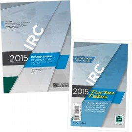 2015 International Residential Code & Tab Combo