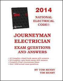 2014 Journeyman Electrician Exam Questions & Answers (Paperback)