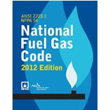 NFPA 54: National Fuel Gas Code, 2012 Edition