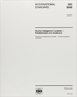 ISO 9000:2005, Quality management systems - Fundamentals and vocabulary