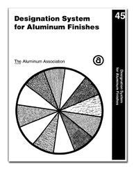 Designation System for Aluminum Finishes, 2003