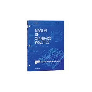 CRSI Manual of Standard Practice, 28th Edition