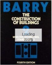 Construction of Buildings: Windows, Doors, Fires, Stairs, Finishes (v. 2)
