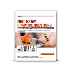 By Mike Holt (2014) 2014 NEC Exam Practice Questions Textbook, Mike Holt [Paperback]