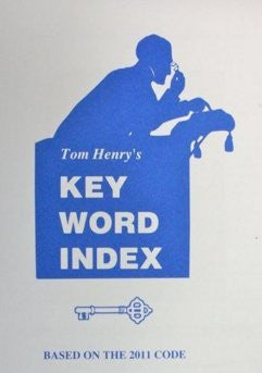 2011 Key Word Index Pocket Sized