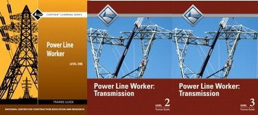 NCCER POWER LINE WORKER: TRANSMISSION Bundle