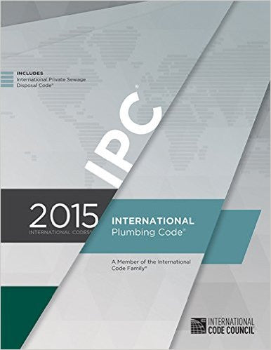 2015 International Plumbing Code (Includes IPSDC)