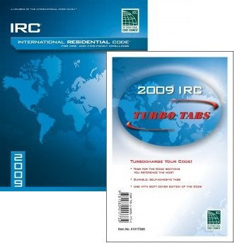 2009 International Residential Code & Tab Combo
