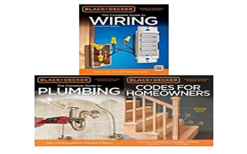 Black & Decker The Complete Guide to Wiring, Updated 6th Edition Book Bundle