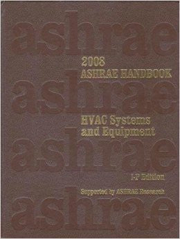 2008 Ashrae Handbook: HVAC Systems and Equipment, I-P Edition