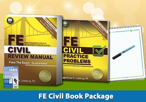 FE Civil Book Package