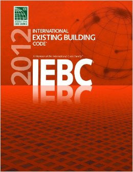 2012 International Existing Building Code (International Code Council Series)