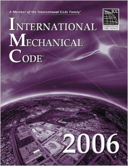 2006 International Mechanical Code (International Code Council Series)